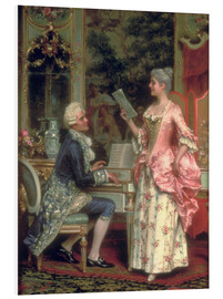Stampa su schiuma dura  The Singing Lesson - Arturo Ricci