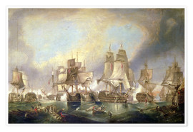 Poster Premium Battle of Trafalgar