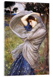 Stampa su vetro acrilico  Bora - John William Waterhouse