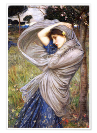 Poster Premium  Bora - John William Waterhouse
