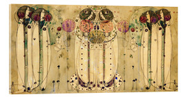 Stampa su vetro acrilico  The Wassail - Charles Rennie Mackintosh