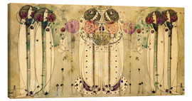 Stampa su tela  The Wassail - Charles Rennie Mackintosh