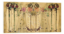 Stampa su schiuma dura  The Wassail - Charles Rennie Mackintosh
