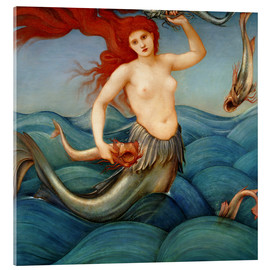 Edward Burne-Jones - Sea Nymph