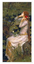 Poster Premium  Ophelia - John William Waterhouse