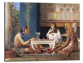 Alluminio Dibond  Egyptian Chess Players - Lawrence Alma-Tadema