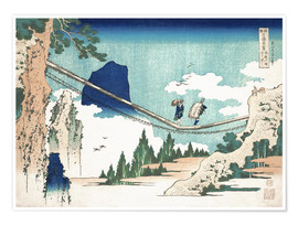Poster  Minister Toru, from the series Poems of China and Japan - Katsushika Hokusai