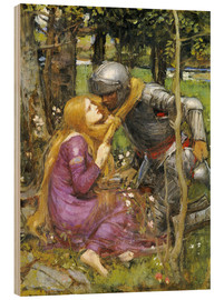 Stampa su legno  Uno studio per La Belle Dame sans Merci - John William Waterhouse