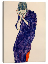 Tela  Youth with violet frock - Egon Schiele