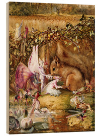 Legno  The Wounded Squirrel - John Anster Fitzgerald