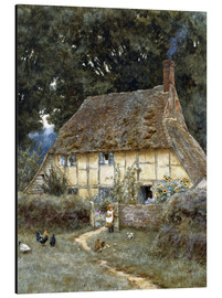Alluminio Dibond  On the Brook Road, near Witley - Helen Allingham