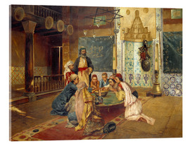 Stampa su vetro acrilico  An Eastern Meal - Rudolph Ernst