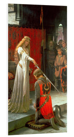 Stampa su schiuma dura  The Accolade - Edmund Blair Leighton