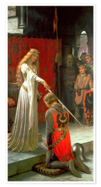 Poster Premium  The Accolade - Edmund Blair Leighton