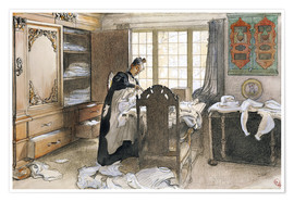 Poster Premium Karin by the Linen Cupboard, 1906