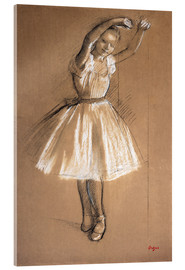 Vetro acrilico  Small dancer - Edgar Degas