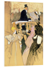 Henri de Toulouse-Lautrec - At the Opera Ball