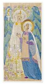 Poster Premium The Annunciation, Glasgow School Embroidery, 1910