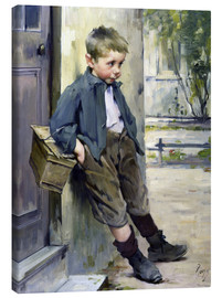 Stampa su tela  Out of the Game - Henri Jules Jean Geoffroy