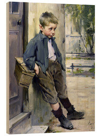Stampa su legno  Out of the Game - Henri Jules Jean Geoffroy