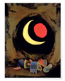 Poster Premium  Strong Dream - Paul Klee