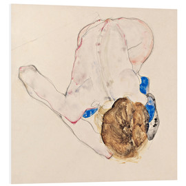 Forex  Nude with blue stockings - Egon Schiele