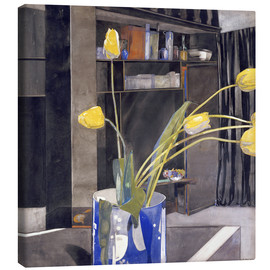Stampa su tela  Yellow Tulips - Charles Rennie Mackintosh