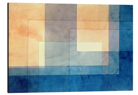 Alluminio Dibond  House on the Water - Paul Klee