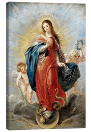 Stampa su tela  Immaculate Conception - Peter Paul Rubens