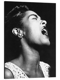 Alluminio Dibond  Billie Holiday