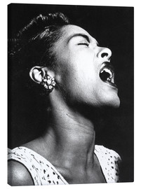 Stampa su tela  Billie Holiday