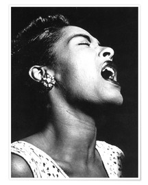 Poster Premium  Billie Holiday