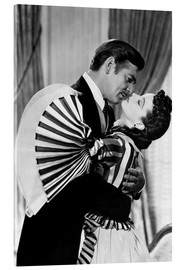 Stampa su vetro acrilico  Gone With The Wind, 1939