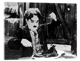 Stampa su vetro acrilico  Chaplin: The Gold Rush