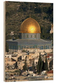 Legno  Jerusalem and the Dome of the Rock - David Noyes