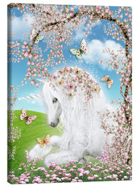Tela  Dreamy Unicorn - Dolphins DreamDesign