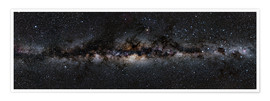 Poster  Milky Way Panorama - Jan Hattenbach