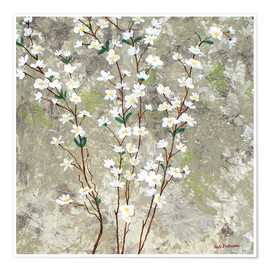 Poster Premium  Pear Blossoms I - Herb Dickinson