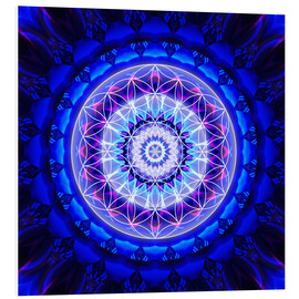 Forex  Mandala safety  with flower of life - Christine Bässler