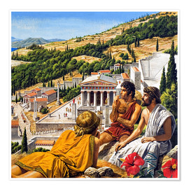 Poster Premium  Ancient Greece - Roger Payne
