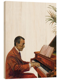 Legno  Rachmaninoff playing the piano - Andrew Howat
