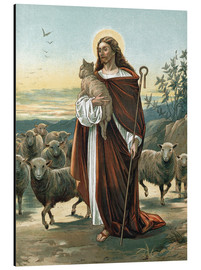 Stampa su alluminio  The good shepherd - John Lawson