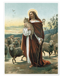 Poster Premium  The good shepherd - John Lawson