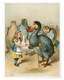 Poster Premium The Dodo solemnly presented the thimble from Alice's Adventures in Wonderland