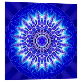 Forex  Spirituality with Mandala Flower of Life - Christine Bässler