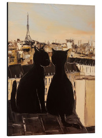 JIEL - Cats on the roofs of Paris