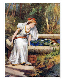 Poster Premium  The Frog Prince - William Henry Margetson