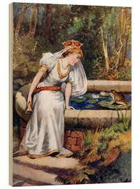 Stampa su legno  The Frog Prince - William Henry Margetson