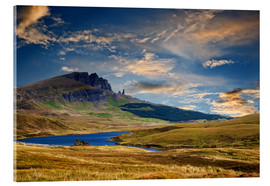 Stampa su vetro acrilico  Scotland - Old Man of Storr at the isle of Skye - Reiner Würz