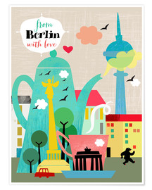 Poster Premium  From Berlin with love - Elisandra Sevenstar
